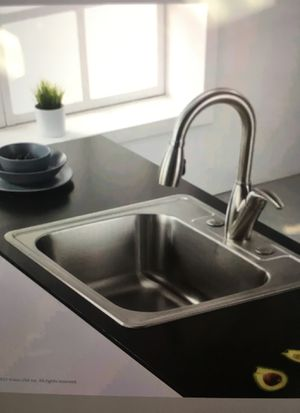 33 in stainless Steel Kitchen sink double bowl new drop in for Sale ...