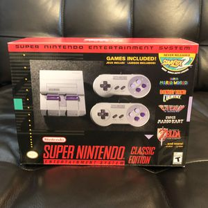SNES classic Brand New never used for Sale in Orlando, FL