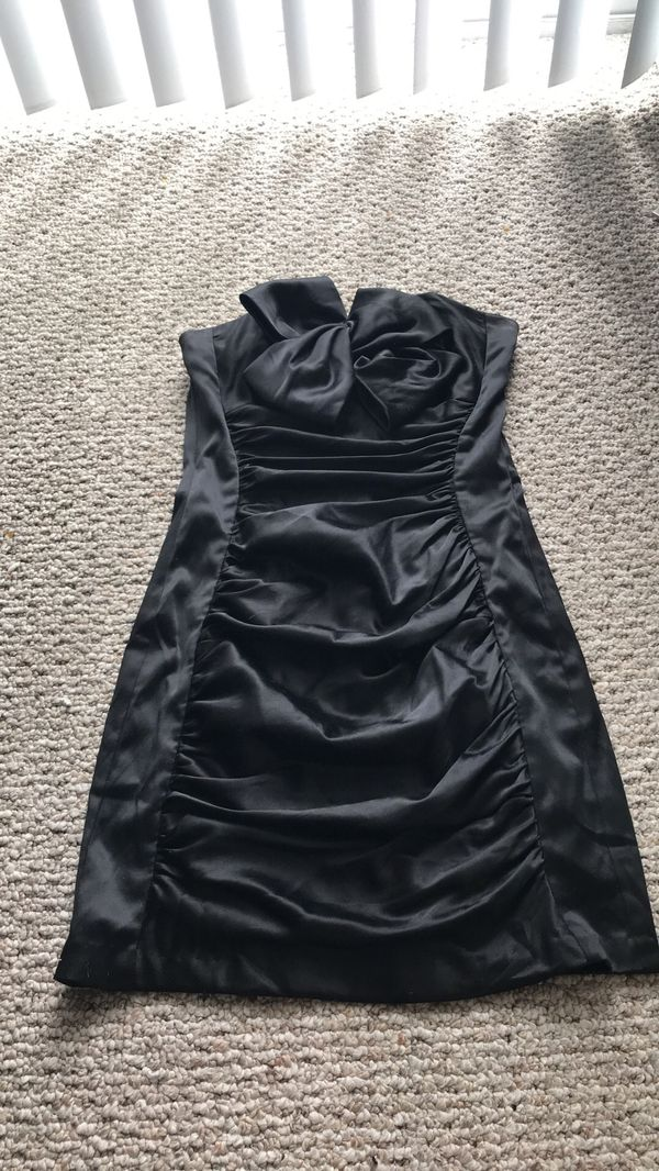 4946224ba2b Black Strapless Jessica McClintock Cocktail Dress Sz 3 for Sale in ...