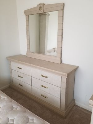 Dresser and mirror!!! for $150 for Sale in Brooklyn Park, MD