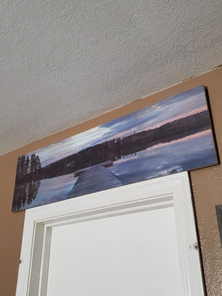 Lake Overview Decor
