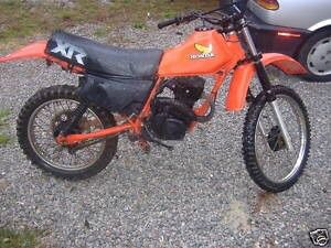 Photo 83 Honda XR 200