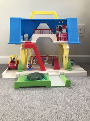 Photo Little People play house