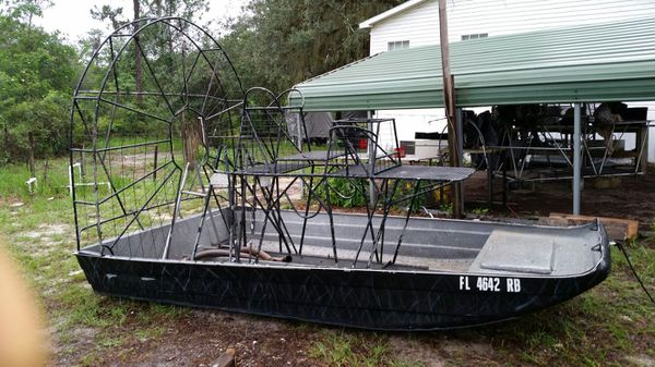 Airboat hull for Sale in Lake Wales, FL - OfferUp