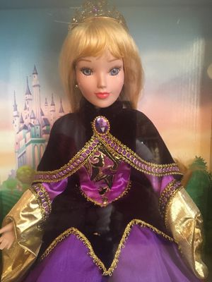 Disney porcelain doll Aurora ( holiday edition) for Sale in Annandale, VA
