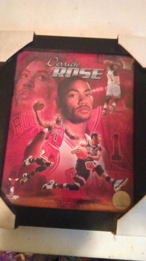 Derrick Rose limited photo. for Sale in Chicago, IL