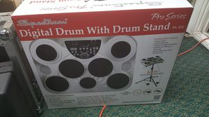 Spectrum AIL 602 7-Pad Digital Drum Set with Adjustable Stand, Pedals for Sale in Baltimore, MD
