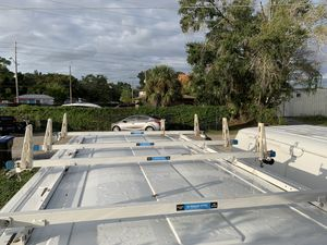 4 Bar Utility Ladder Rack with Roller made by Adrian Steel for Sale in Aloma, FL
