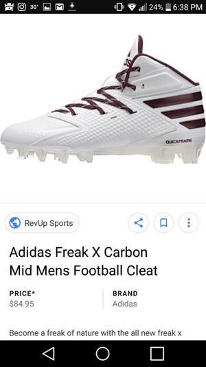 big sale a4abc 3b133 Adidas football cleats for Sale in Buford, GA - OfferUp