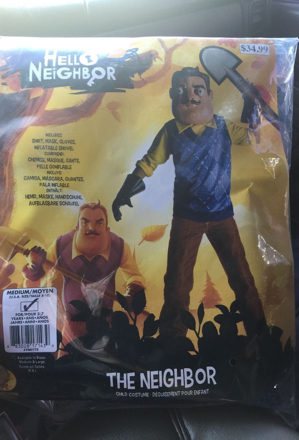 Hello Neighbor Costume New For Sale In Las Vegas Nv Offerup