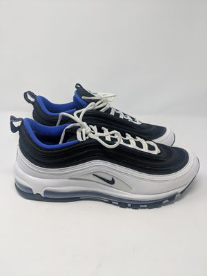 a65d627c012d Nike Air Max 97 Size 10.5 Running Shoe White Black Persian Violet 921826 103