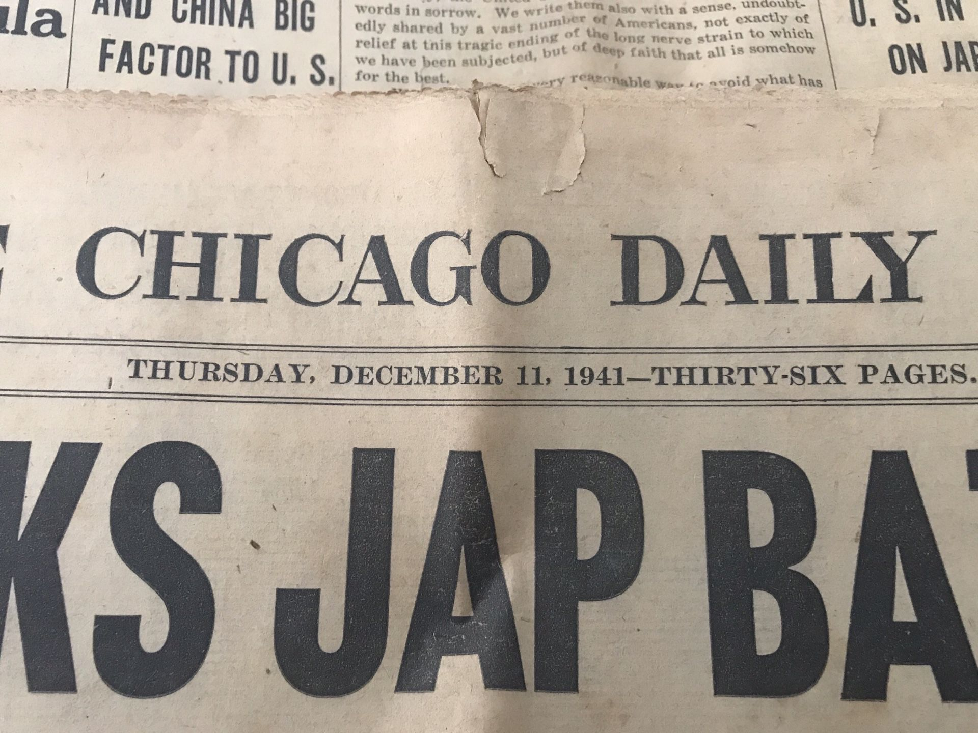 3 Chicago daily news papers