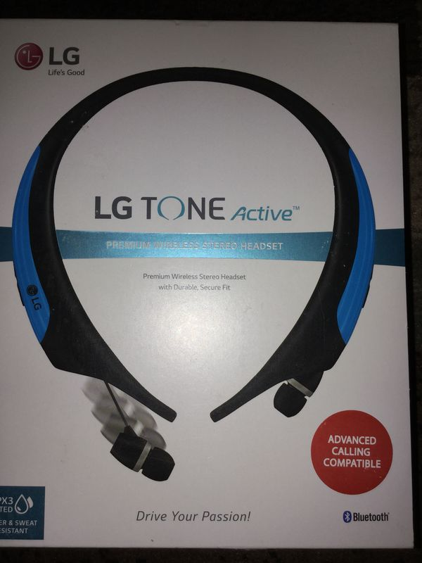c56a0c5e659 LG TONE Active HBS-850 Headset - Earphones with mic - in-ear - around the  neck design - wireless - Bluetooth for Sale in Detroit, MI - OfferUp