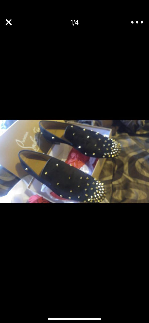 newest f563d 31f01 Men's red bottom shoes used $750 or best offer for Sale in Philadelphia, PA  - OfferUp