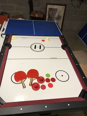 Air hockey Ping pong game table for Sale in Annandale, VA