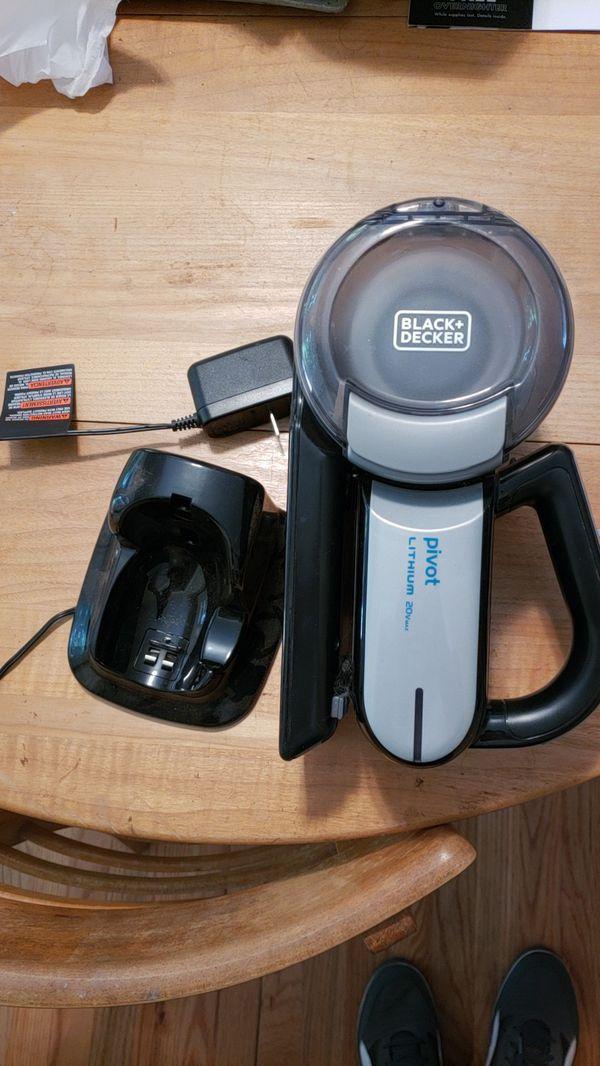 Black Decker Bdh2000pl >> Black Decker Bdh2000pl Max Lithium Pivot Vacuum 20 Volt For Sale In