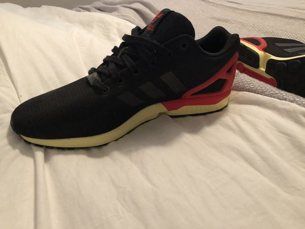 buy popular 5d1a4 62756 Adidas ZX Flux black/red-yellow for Sale in Kissimmee, FL - OfferUp