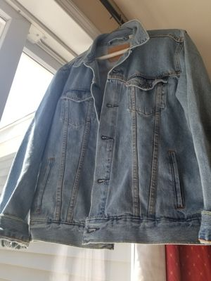4f495ad4 LIKE NEW. Blue Levi Strauss Denim Jacket for Sale in Merrimack, NH