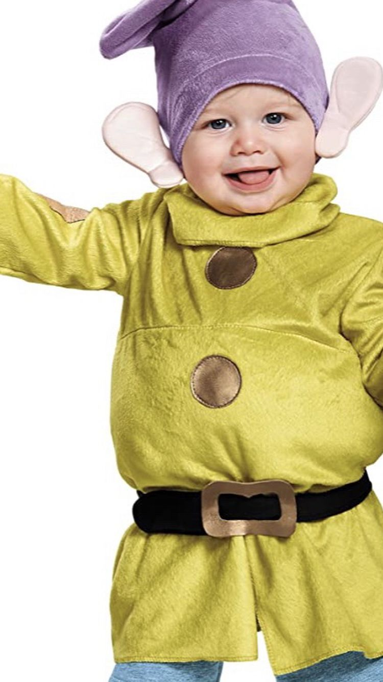 Dopey toddler costume