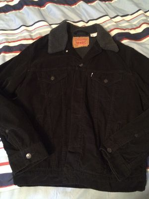 Levi Corduroy/Lamb Interior jacket (Large) for Sale in Philadelphia, PA