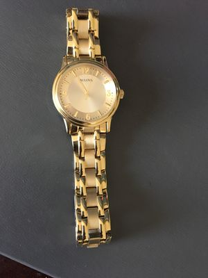 Bulova gold men's watch for Sale in Capitol Heights, MD
