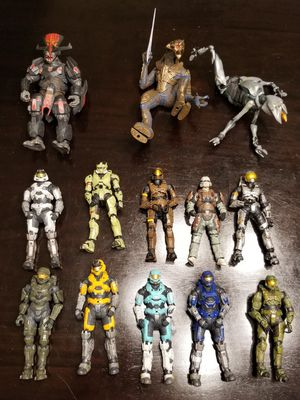 Halo action figures for Sale in Los Angeles, CA