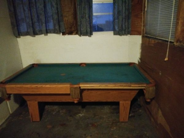 Pool Table Wanted To Trade For A Full Size Mattress And Boxsprings - Pool table wanted