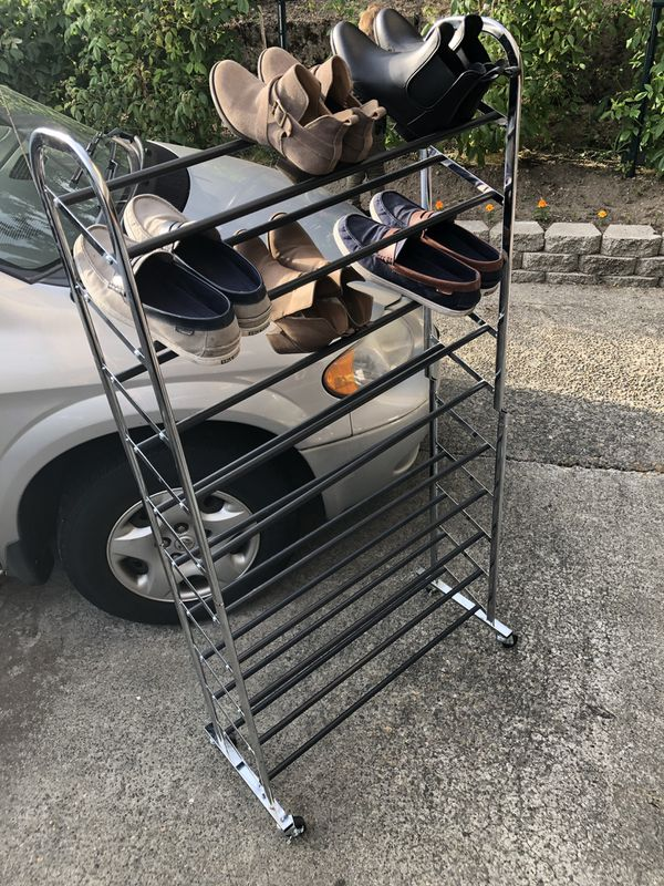 Shoe Rack On Wheels For Sale In Auburn Wa Offerup