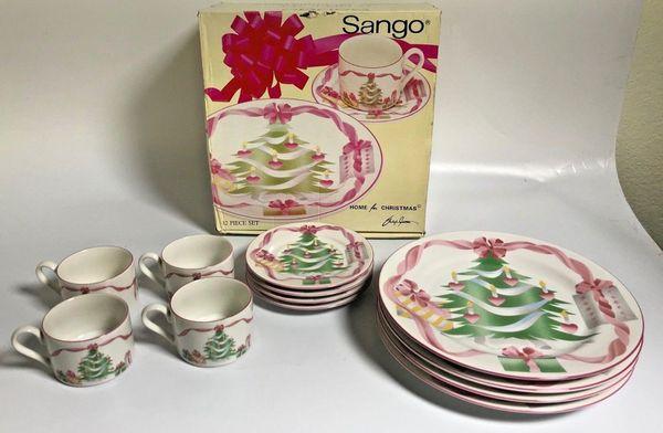 "Sango China ""Home for Christmas"" Dishes"