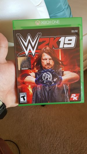 WWE 2K19 for Sale in Ashburn, VA