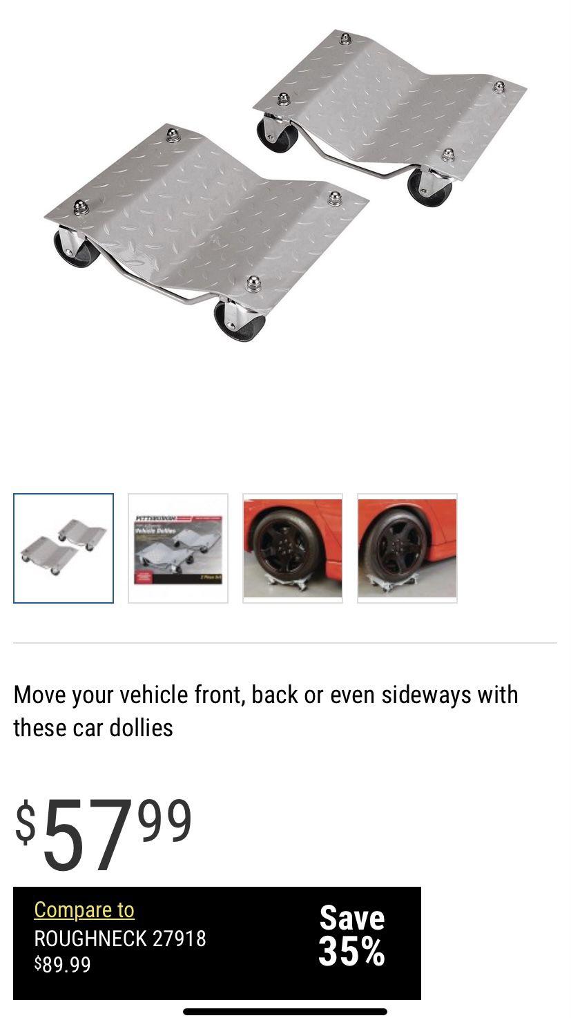 Car Dollies 1500# Per Dolly
