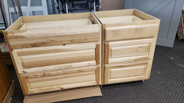 CLEARANCE ITEM!! Lot of two hampton style lower kitchen ...