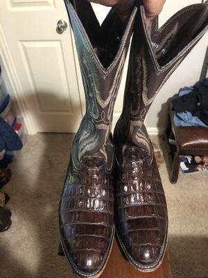 Botas marca Larry mahan las cambio por botas de trabajo for Sale in Dallas, TX