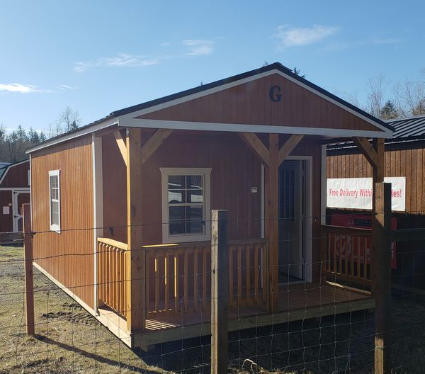 Cabin Portable Building Tiny Home Studio Office Storage Shed for Sale in  Lake Stevens, WA - OfferUp