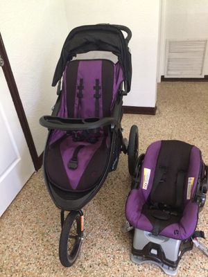 Baby Trend Stroller And Matching Car Seat For In Daytona Beach Fl