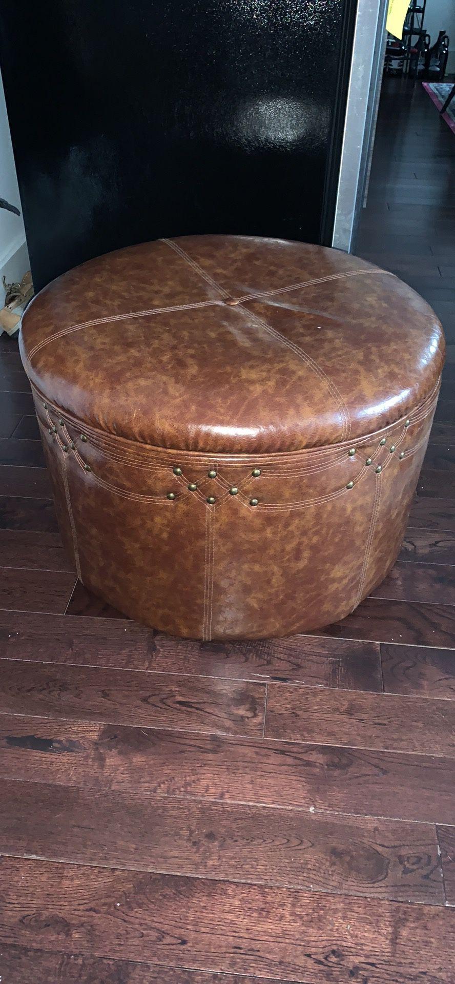 Bohemian style Ottoman