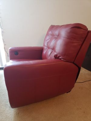 Red Power Recliner - Free Delivery for Sale in Arlington, VA