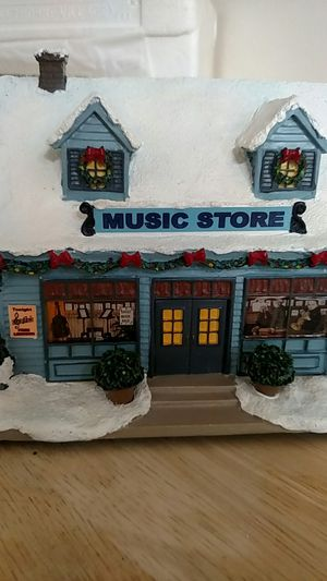 Norman Rockwell's Christmas village Music store for Sale in Woodbridge, VA