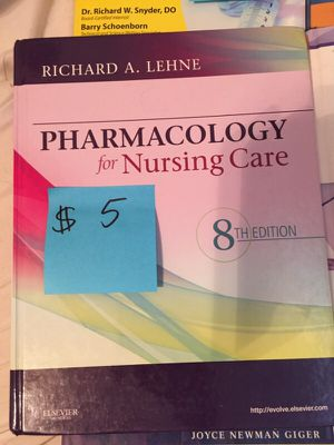 Pharmacology for nursing care 8th edition for Sale in Columbus, OH