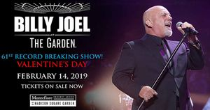 Billy Joel at The Garden - Valentines Day for Sale in New York, NY