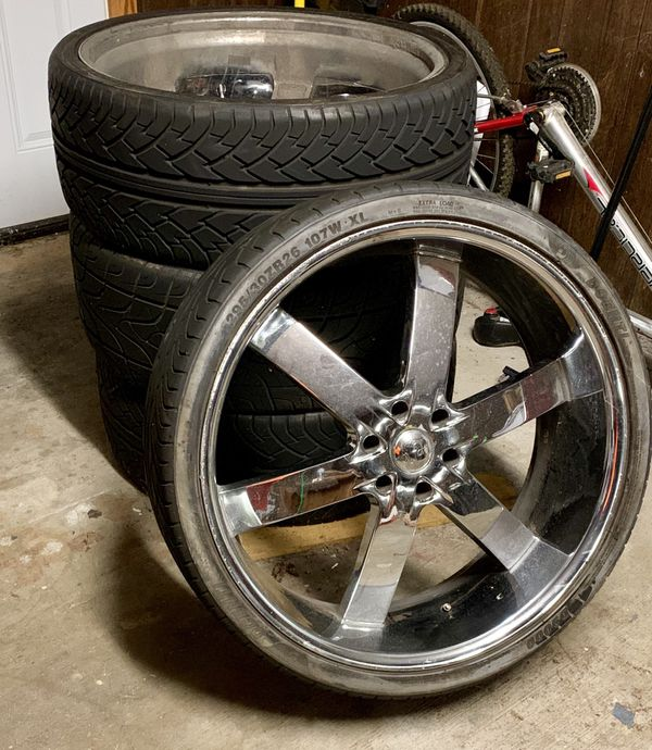 26 Inch Rims And Tires For Sale In Beaumont, TX