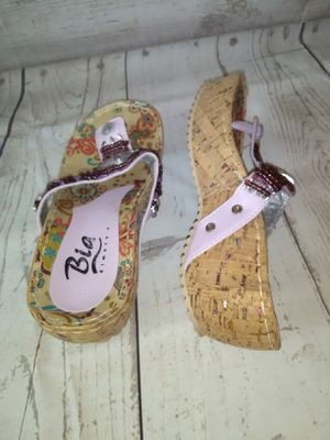 Beautiful Sandal , women's size 7. ( Used twice ) for Sale in Frederick, MD