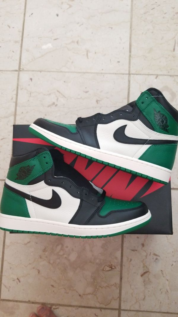 28dcee000cc8 Nike Air Jordan 1 Retro Pine Green size 10.5 new for Sale in La ...