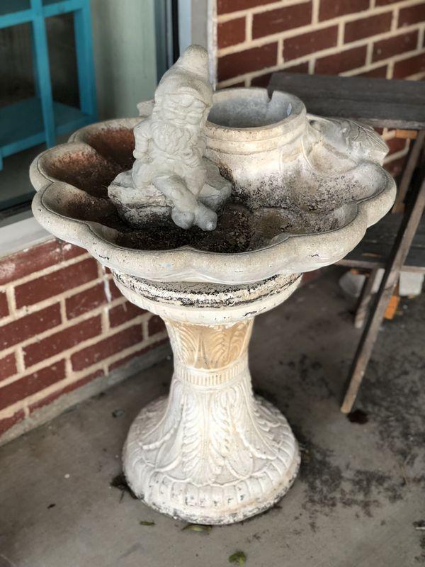 Bird Bath Concrete for Sale in Norman, OK - OfferUp