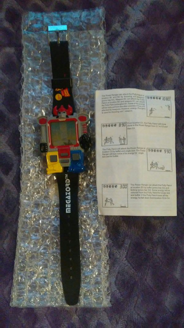 1994 Nelsonic Power Rangers Megazord Watch And Game New For Sale In