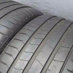 Pair 315 35 21 Pirelli PZERO Run Flat with 75% Tread 6/32 111Y #7620 Thumbnail