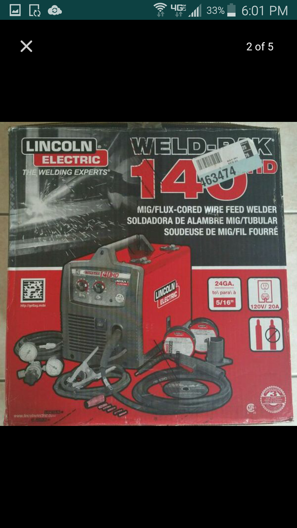 lincoln weldpak electric le pak review crom hd weld