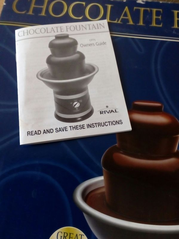 Rival Chocolate Fountain Used Once Like New For Sale In New