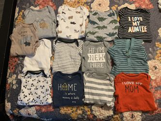 Baby Boy Clothes 0-3 Months  Thumbnail