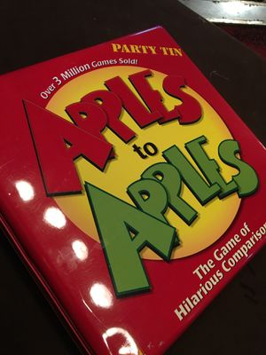 Apples to Apples Party Tin for Sale in Alexandria, VA